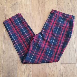Black Tape_ Tartan Pants w Pockets Size L